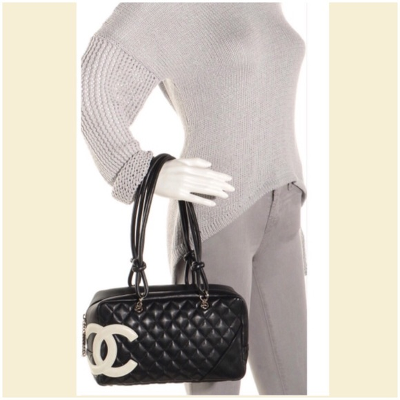 CHANEL Handbags - 💐CERTIFIED AUTHENTIC Chanel Cambon Line Bowlerbag a2bc7b69f5